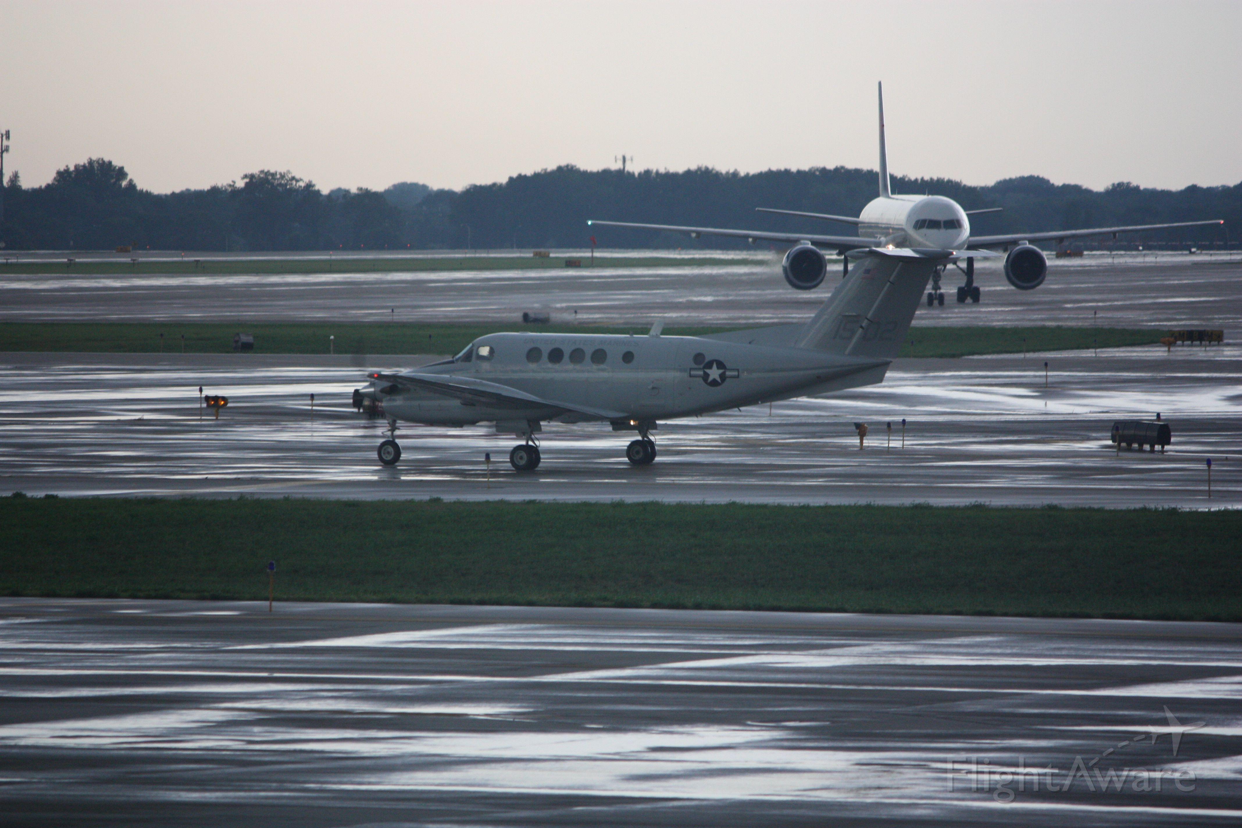 — — - USMC King Air tail number 1502 at KSLC