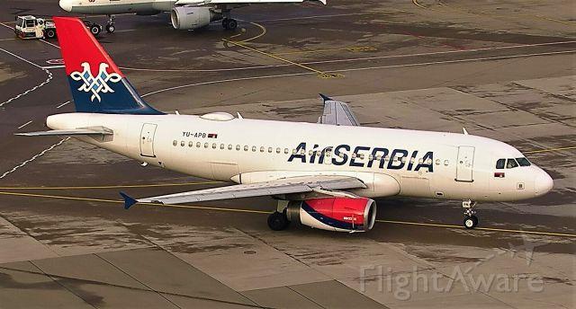 Airbus A320 (TU-APB)