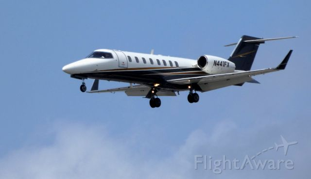 Learjet 45 (N441FX) - On final is this 2008 Learjet 45 in the Spring of 2019.