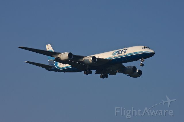 N721CX — - Air Transportation Internationalseen here landing on 33L at BWI July 28, 2012.