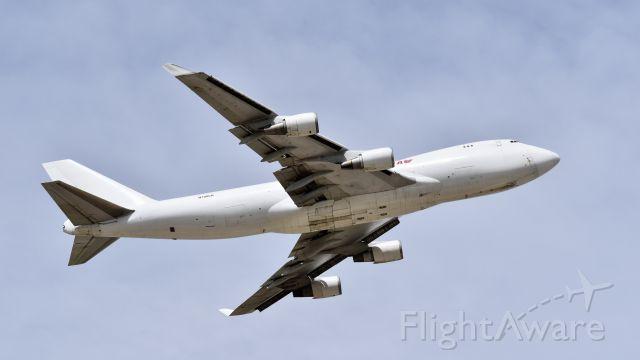 Boeing 747-400 (N700CK) - Boeing 747-4R7 (F) departing RWY 35R at Colorado Springs Municipal Airport, Colorado