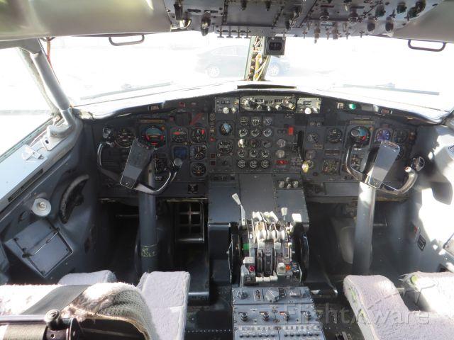 — — - Ex-FedEx 727 Cockpit at Museum of Flight, Los Angeles