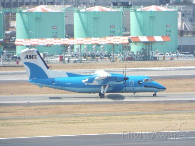 de Havilland Dash 8-100 (JA81AM)