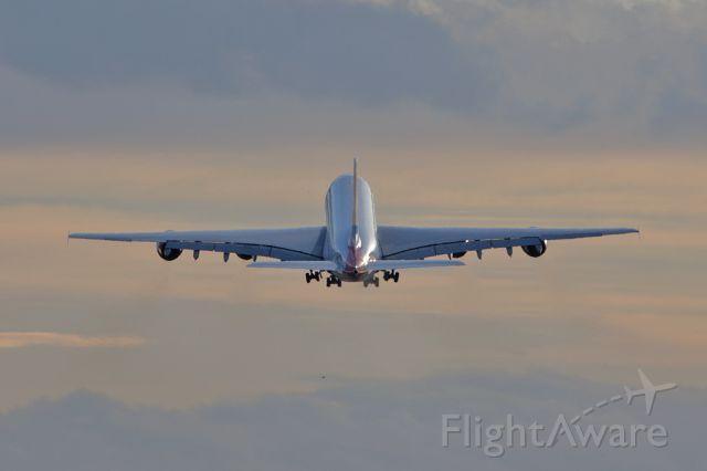 Airbus A380-800 (G-XLEC) - BAW9155 positioning back to LHR after diverting to MAN due to bad weather at LHR.