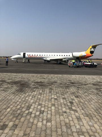— — - Near arrivals, Victoria Falls