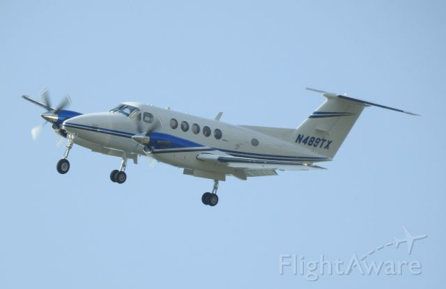 Beechcraft Super King Air 200 (N489TX)