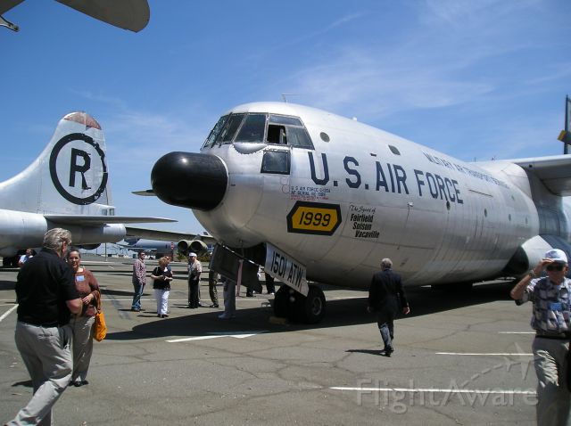 Douglas Cargomaster (N1999) - Douglas C-133 A Cargomaster at Travis, AFB KSUU