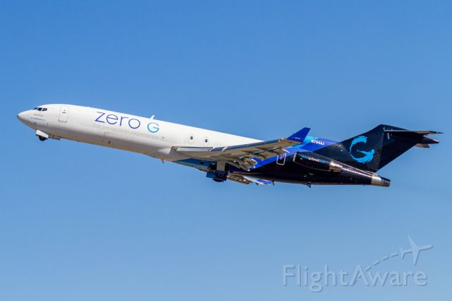 BOEING 727-200 (N794AJ) - It was so awesome to see a 727 depart!