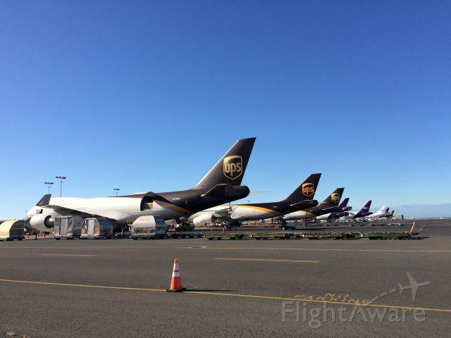 Boeing 747-200 (N614UP) - On the way to my Caravan