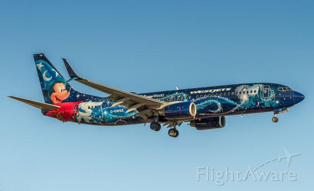 Boeing 737-800 (C-GWSZ) - Westjet