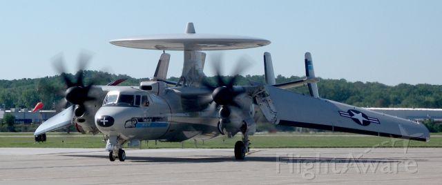 Grumman E-2 Hawkeye — - E2 Hawkeye in ERI for another visit