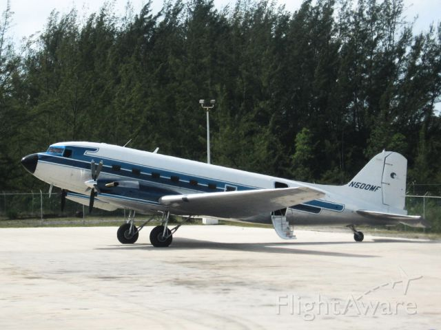 Douglas DC-3 (turbine) (N500MF) - Check out our aviation videos with 100% authentic and non-leveled sound! a rel=nofollow href=http://youtube.com/ilikeriohttps://youtube.com/ilikerio/abr /br /The other MFI (Missionary Flights International) DC-3 from our CCA Bahamas Missions Trip in 8th grade. Our DC-3 was N467KS.