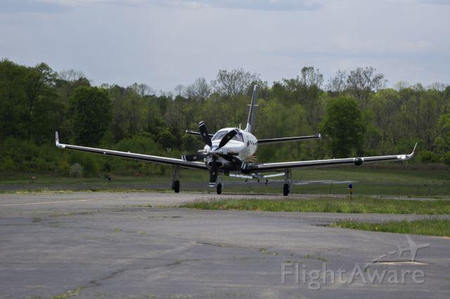 Daher-Socata TBM-900 (N975JB) - Shot 5/14/21 from along taxiway