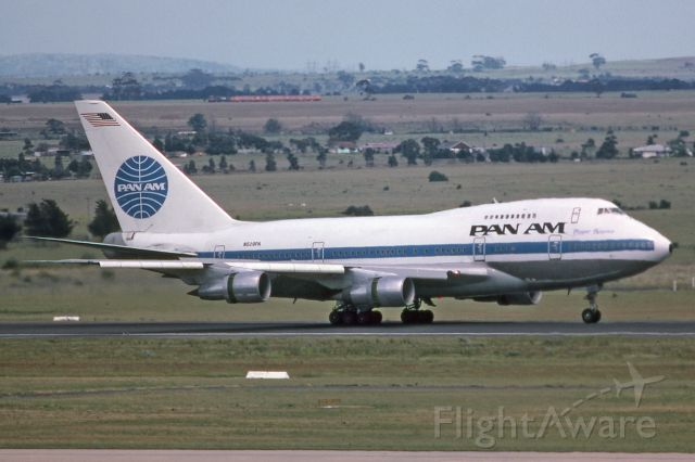 BOEING 747SP (N529PA) - Melbourne, Tullamarine, November 9, 1984.