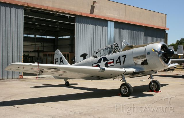 North American SNJ-5 — - North American SNJ-5, 721 Air Base Rochefort-St Agnant in May 2011.