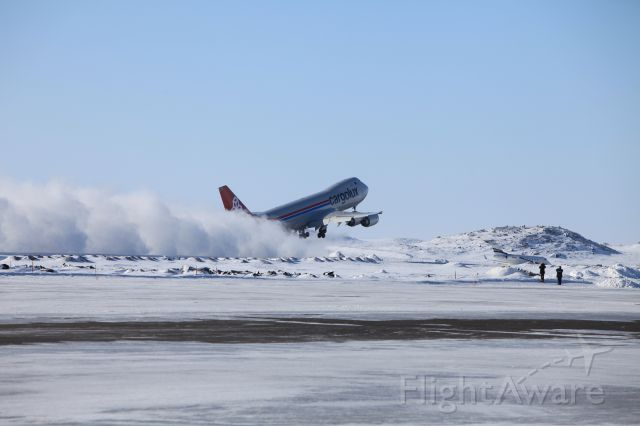 — — - Take off after cold weather testing