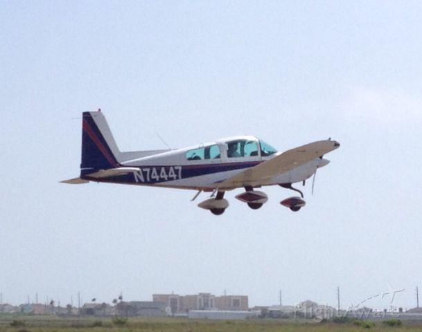 N74447 — - Departing Mustang Beach (KRAS), TX