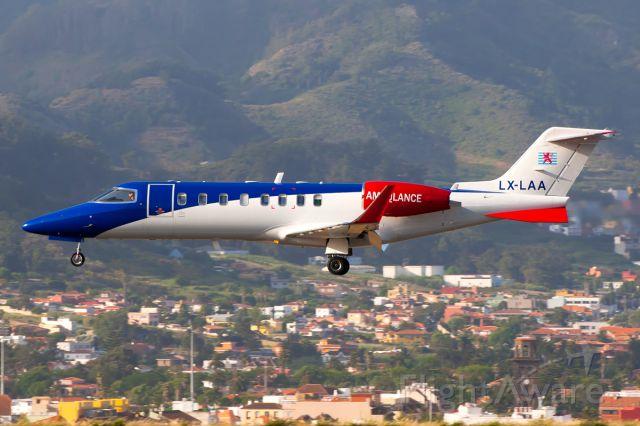 Learjet 45 (LX-LAA)