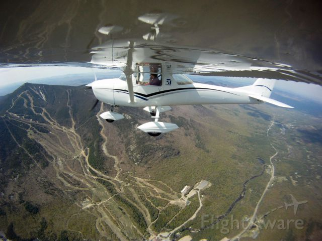 Cessna Commuter (N50921) - Whiteface Mountain, gopro shot