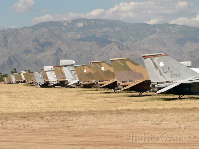 Grumman EF-111 Raven — - Just some of the Aardvarks stored with the 309th AMARG.