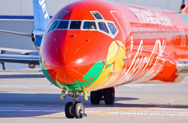 McDonnell Douglas MD-83 (OY-RUE) - The Fifa event in Toronto!