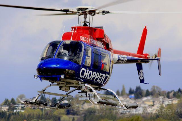 Cessna Skyhawk (N69F) - KIRO-TV chopper 7 making its way home to Renton, WA
