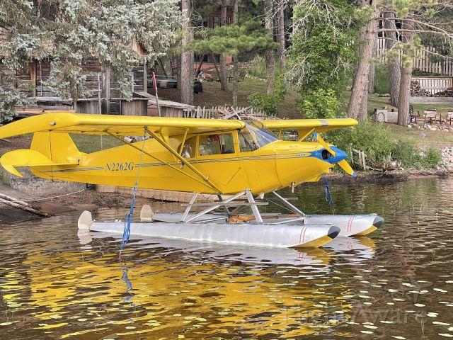 Piper PA-12 Super Cruiser (N2262G) - Lakeside parking