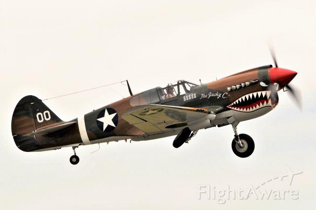 CURTISS Warhawk (N1232N) - Westfield, MA 2017