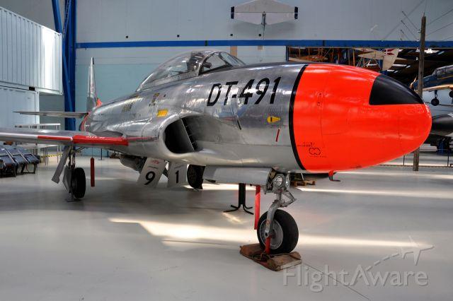 Lockheed T-33 Shooting Star (DTA491) - Lockheed T-33A Shooting Star, Royal Danish Air Force DT-491 (Danmarks Tekniske Museum)