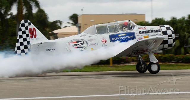 N4269Q — - Smokey take off.