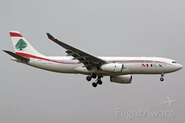 Airbus A330-200 (OD-MEA)