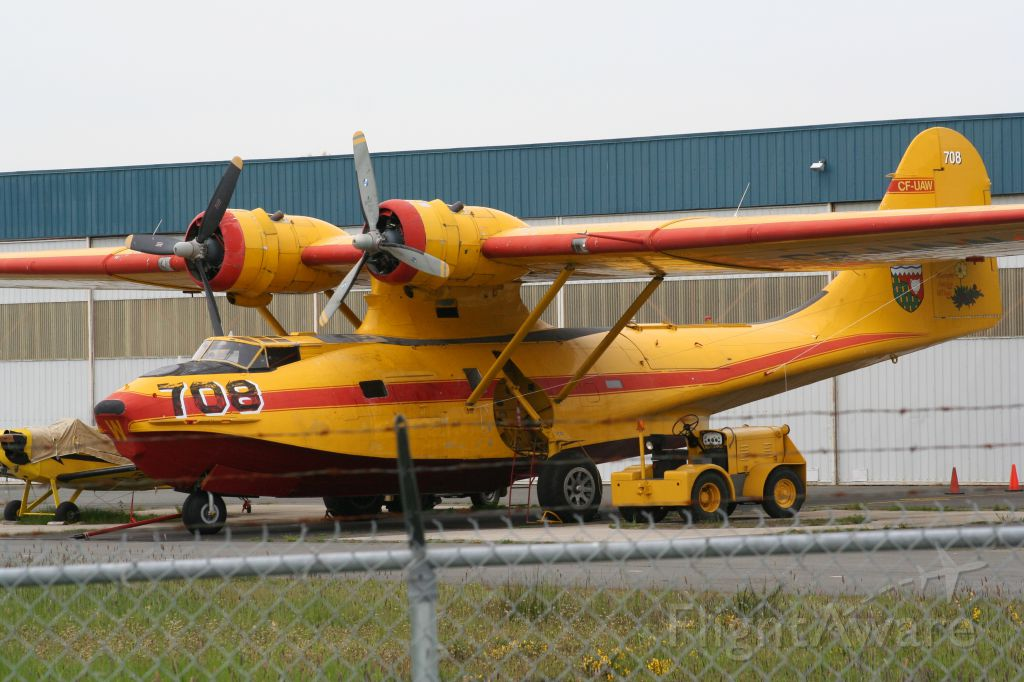 C-FUAW — - Spotted this old gal in Victoria May 2-13. Search PBY and her Tail number for more history.