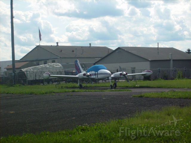 Cessna 310 — - A nice Cessna 310 at Doylestown Airport. Never seen it go out before. Don