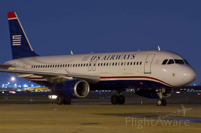 Airbus A320 (N667AW) - Sept. 17, 2011.