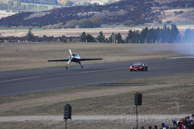 SUKHOI Su-29 — - Sukhoi 29 versus Lamborghini Wanaka NZ April 2014