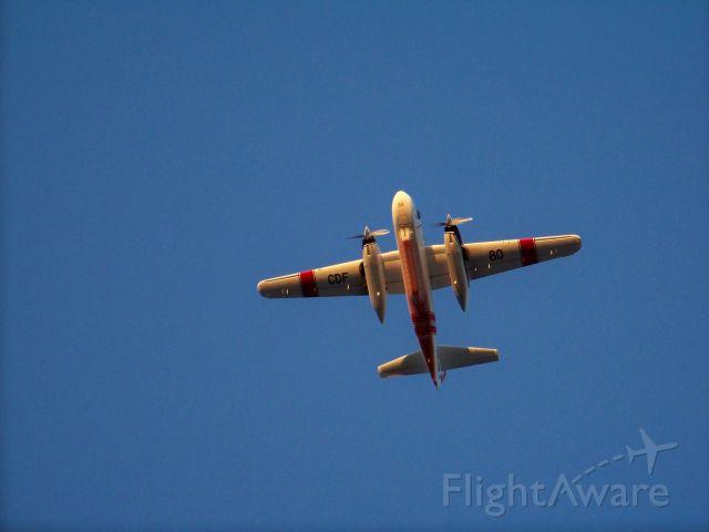 — — - Cal Fire aerial tanker