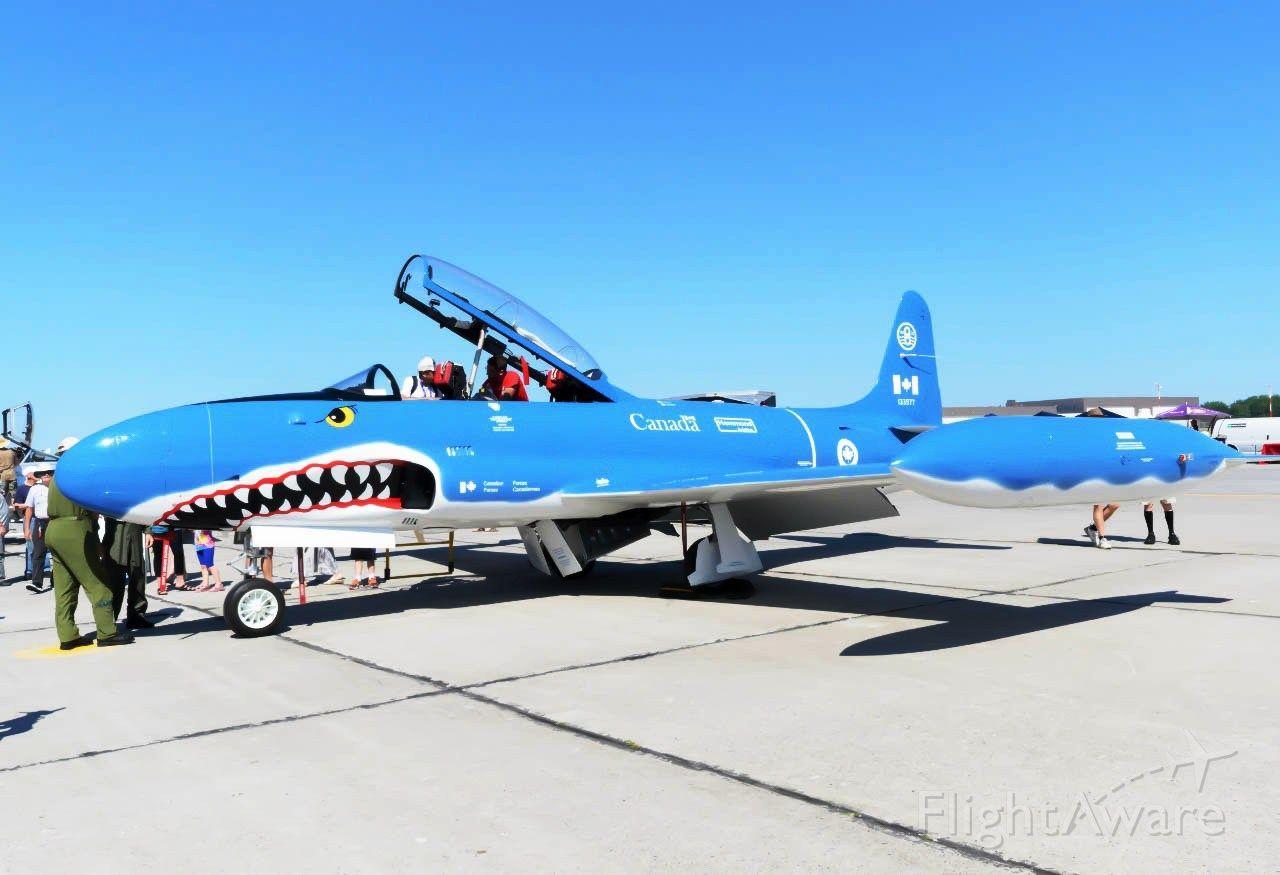 Lockheed T-33 Shooting Star (C-FRGA)