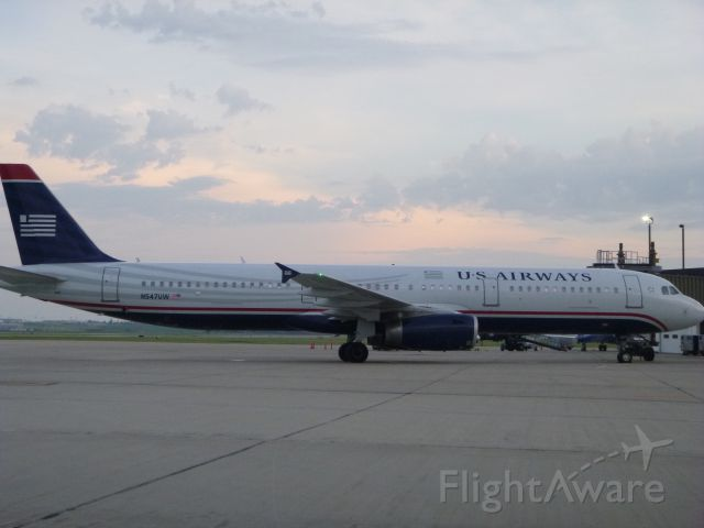 Airbus A321 (N547UW) - U.S. Airways Diversion