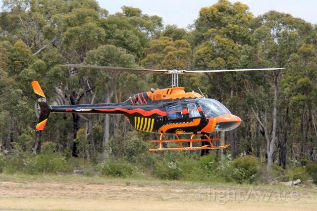 — — - Bell 206 Jet Ranger IIbr /Photo: 04.11.12br /Hard landing, severe damage, no crew injuries, on 31 Just 2013br /See ATSB report: https://www.atsb.gov.au/publications/investigation_reports/2013/aair/ao-2013-122/