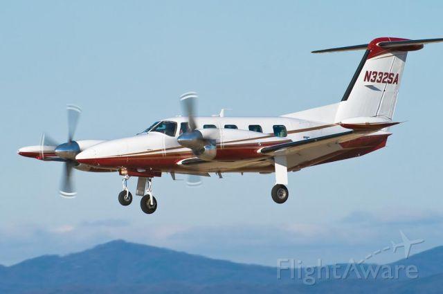 Piper Cheyenne 400 (N332SA) - 12/28/09