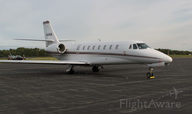 Cessna Citation Sovereign (N359QS) - In Maine.