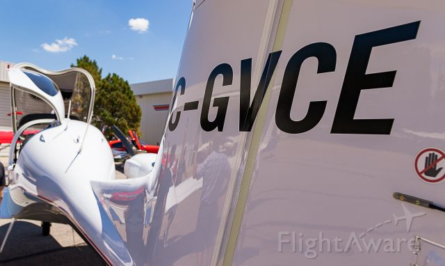 Diamond Twin Star (C-GVCE) - US Aircraft Expo @ KAPA 7/13/18