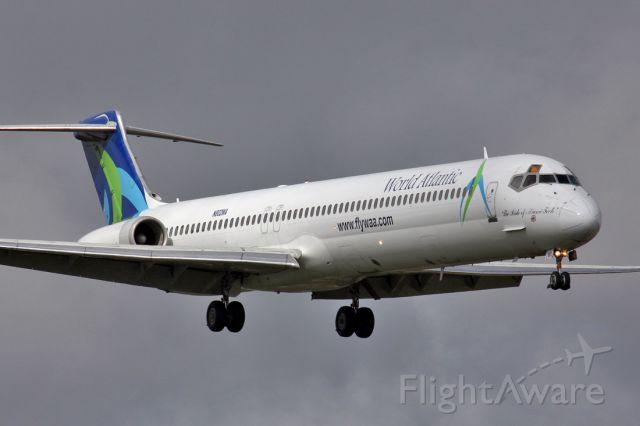 McDonnell Douglas MD-83 (N802WA) - The Pride Of Miami Tech