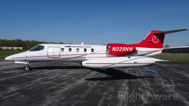 Learjet 35 (N325NW) - Updated Livery