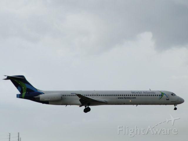McDonnell Douglas MD-83 (N805WA)
