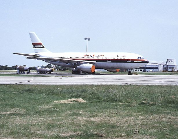 Airbus A300F4-200 (G-BIMC) - Date 03/07/83 c/n 203