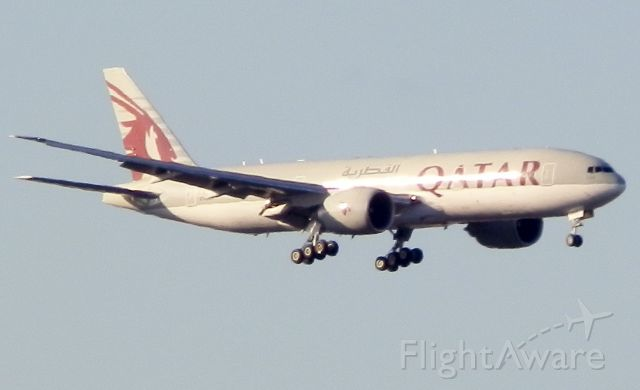 BOEING 777-200LR (A7-BBH) - Direct from Doha