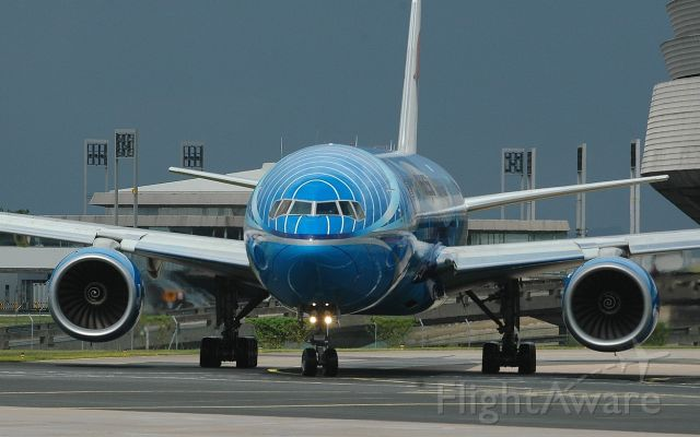 Boeing 777 (9M-MRD) - Malaysia