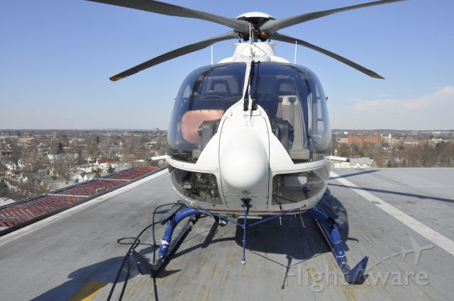 N535LN — - Roof of Albany Medical Center