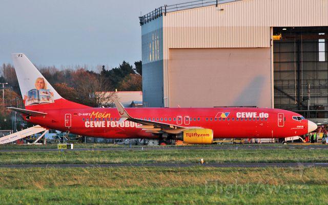 Boeing 737-800 (D-AHFZ) - tuifly b737-8 d-ahfz at shannon 17/10/17.